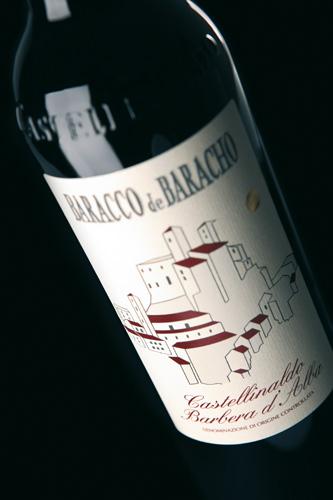 Etichetta Barbera d'Alba - Castellinaldo