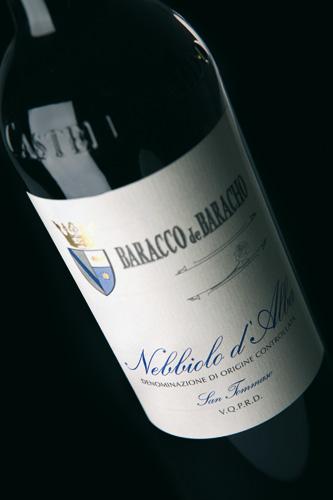 Nebbiolo d'Alba label