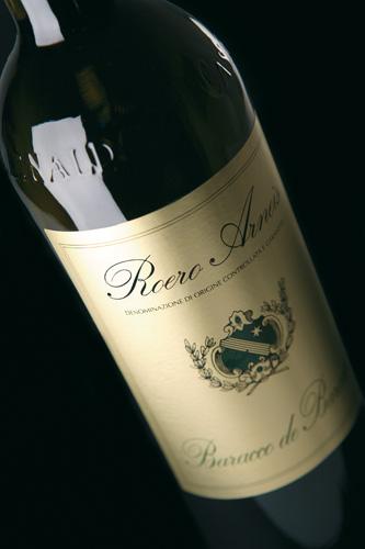 Roero Arneis label
